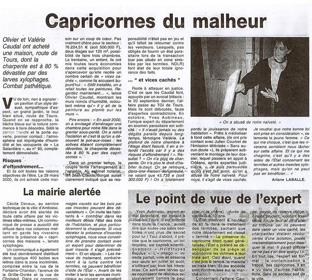 Charpentes # Capricorne Du Bois