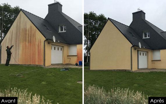 champignon mur exterieur maison ventana blog. Black Bedroom Furniture Sets. Home Design Ideas